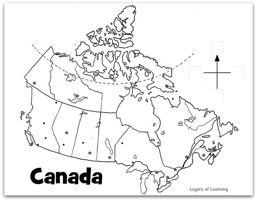 Grade 5 Blank Map Of Canada.Class Summary Grade 5